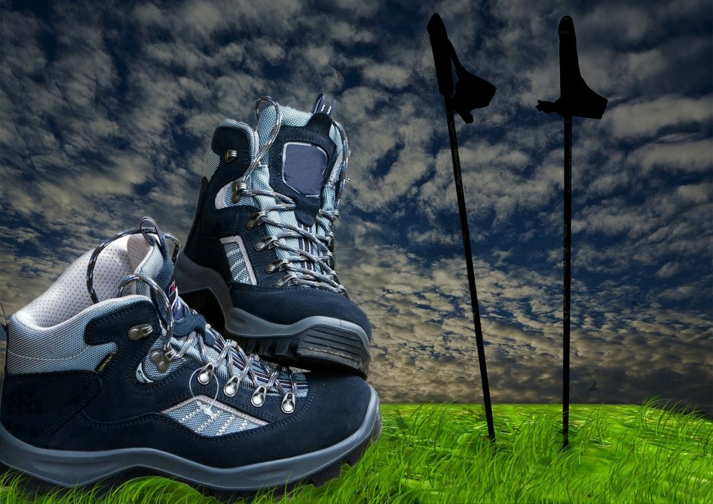 Using Hiking and Trekking Poles for Stability